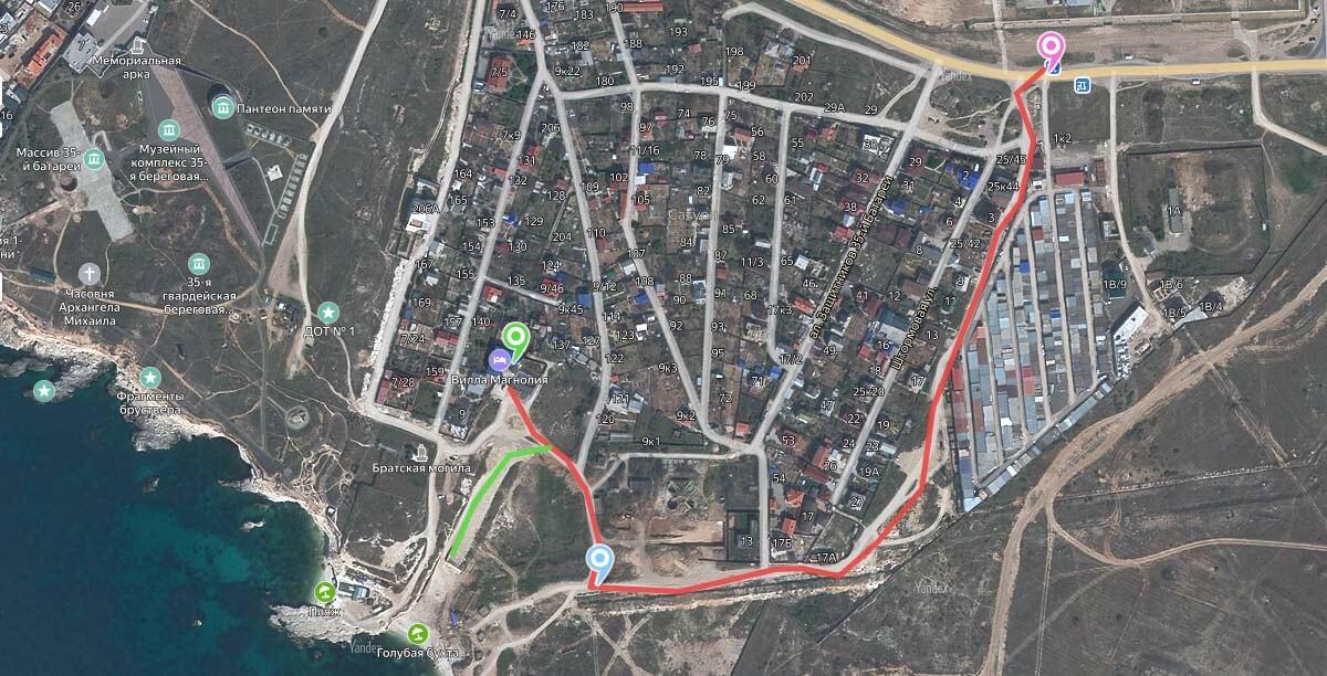 карта проезда на дайвинг